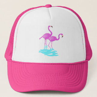 Pink Flamingos Hat
