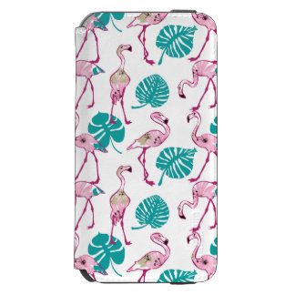 Pink Flamingos Incipio Watson™ iPhone 6 Wallet Case