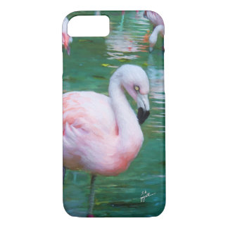 Pink Flamingos iPhone Cases