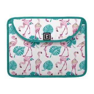Pink Flamingos MacBook Pro Sleeves