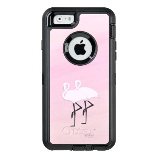 Pink Flamingos OtterBox Defender iPhone Case