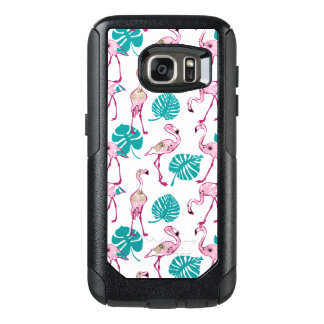 Pink Flamingos OtterBox Samsung Galaxy S7 Case