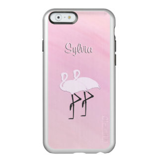Pink Flamingos Personal Incipio Feather® Shine iPhone 6 Case