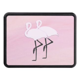 Pink Flamingos Trailer Hitch Cover