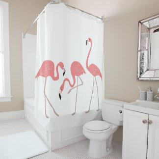 Pink Flamingos Tropical Birds