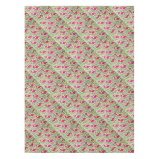 Pink Flamingos Tropical Pattern Tablecloth
