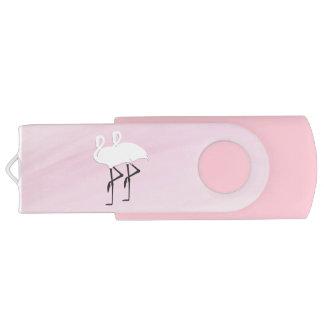 Pink Flamingos USB Flash Drive
