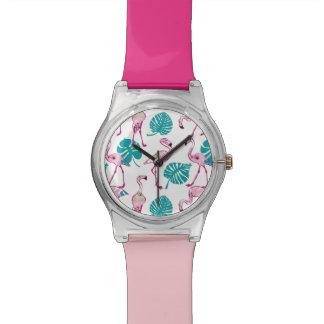 Pink Flamingos Watches