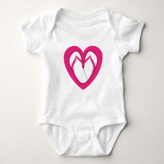 pink flip flop design 2 tshirts