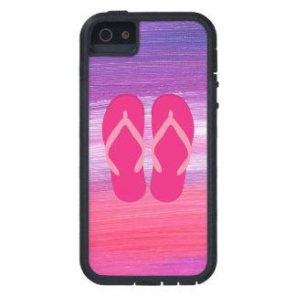 Pink Flip-Flops iPhone 5 Cover