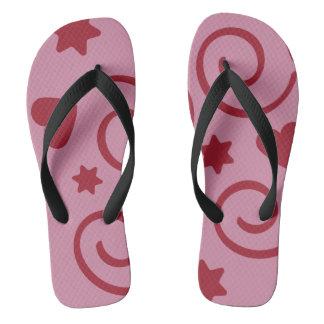 Pink flipflops for her flip flops