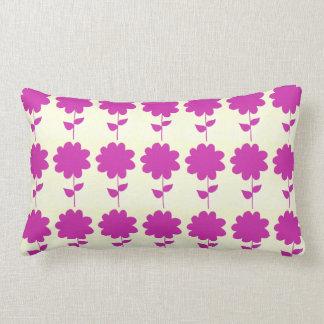 Pink Flo Lumbar Pillow