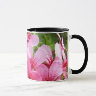 Pink Flora Mug