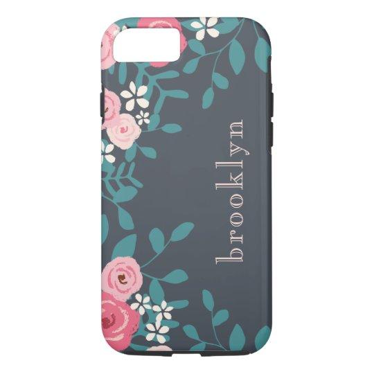 Pink Floral Bouquet iPhone 7 Case