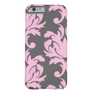 Pink Floral Damask iPhone 6 case