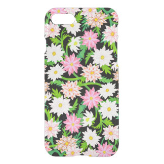 Pink Floral Garden Flowers iPhone 7 Case