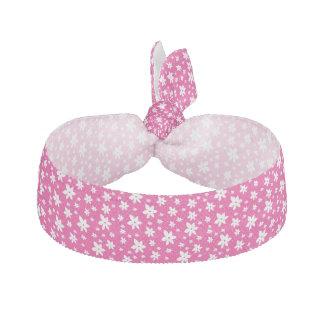 Pink Floral Hair Tie