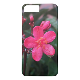 Pink floral Iphone 7 case