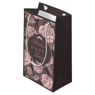 Pink Floral Mother's Day Gift Bag