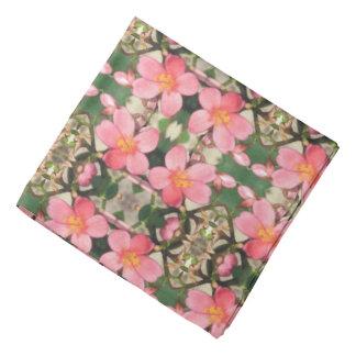Pink Floral Pattern Kerchief