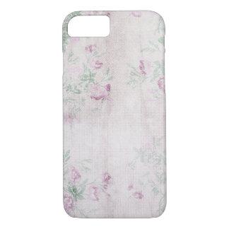 pink floral vintage design iPhone 7 case