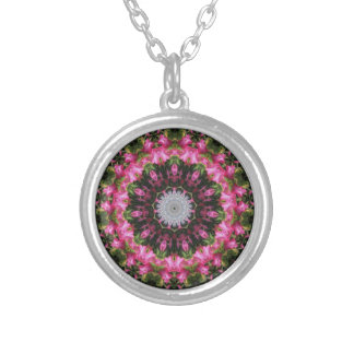 Pink Floral Wisp Necklace
