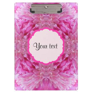 Pink Florals Clipboard