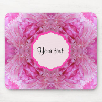 Pink Florals Mouse Pad