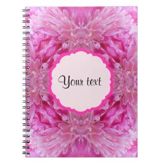 Pink Florals Notebook