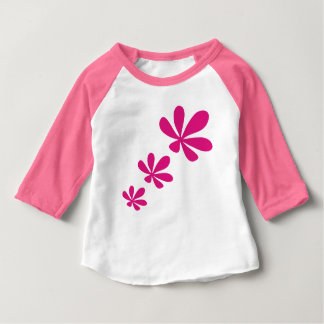 pink flower5 baby T-Shirt