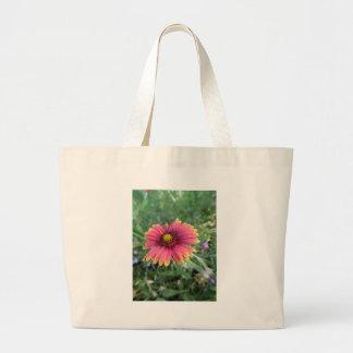 Pink Flower Jumbo Tote Bag