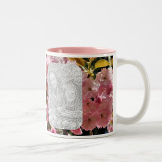 Pink Flower Blossoms Photo Mug