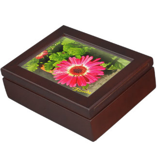 Pink Flower Bok Tower Gardens Lake Wales Florida Keepsake Box