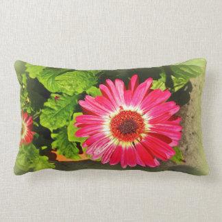 Pink Flower Bok Tower Gardens Lake Wales Florida Lumbar Pillow