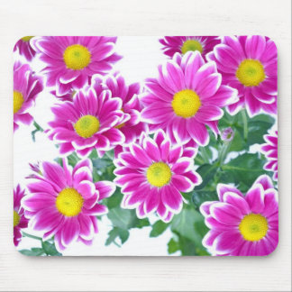Pink Flower Bouquet Case Mouse Pad