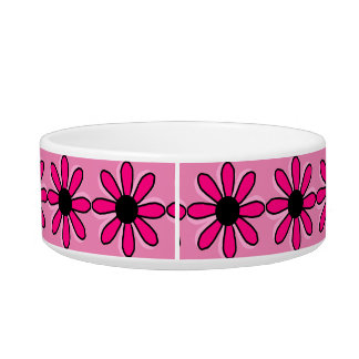 Pink Flower Bowl