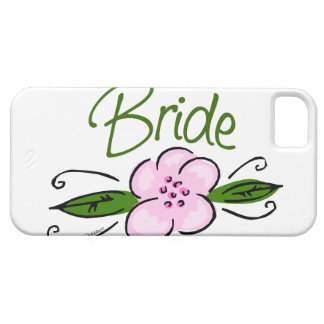 Pink Flower Bride iPhone 5 Covers