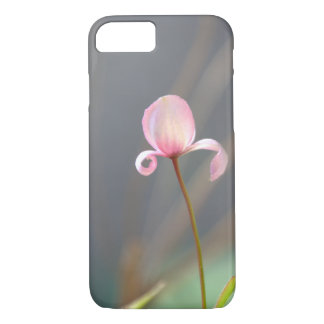 Pink Flower Bud iPhone 7 Case