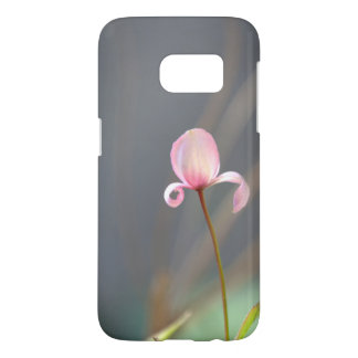 Pink Flower Bud Samsung Galaxy S7 Phone Case