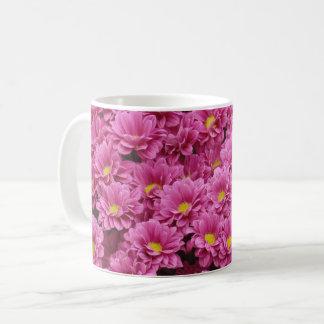 Pink Flower Bunch Coffee Mug
