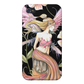 Pink Flower Fairy iPhone Case iPhone 4/4S Cases
