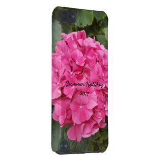 Pink Flower Floral Photography Nature iPod Touch 5G Covers