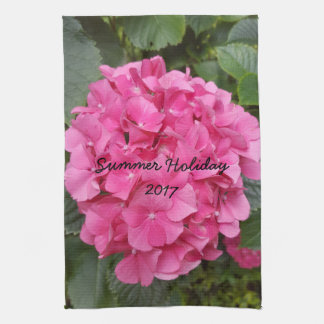 Pink Flower Floral Photography Nature Kitchen Towel