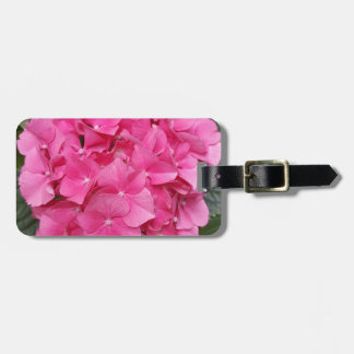 Pink Flower Floral Photography Nature Luggage Tag