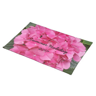 Pink Flower Floral Photography Nature Placemat