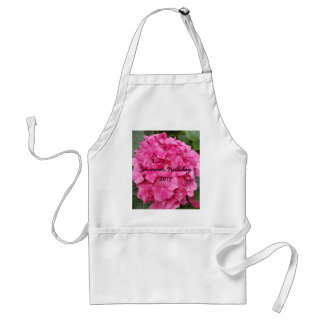 Pink Flower Floral Photography Nature Standard Apron