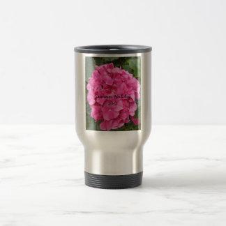 Pink Flower Floral Photography Nature Travel Mug