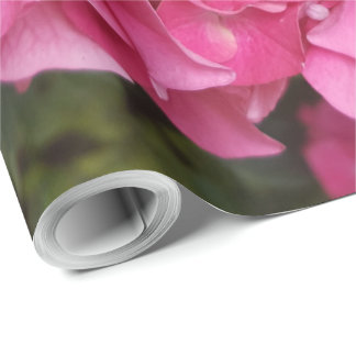 Pink Flower Floral Photography Nature Wrapping Paper