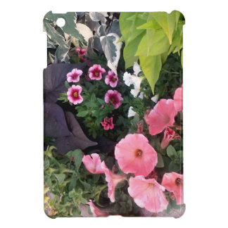 Pink Flower Garden iPad Mini Case