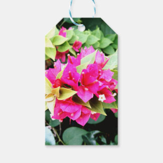 Pink Flower Gift Tags